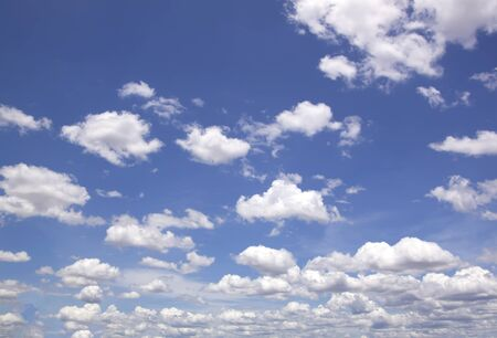 bright sky: The vast blue sky and clouds sky.