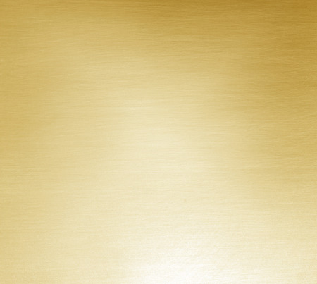 Metal Shiny yellow gold texture background abstract. Standard-Bild