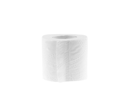 sniffles: Tissues clean white Isolated On White Background. Stock Photo