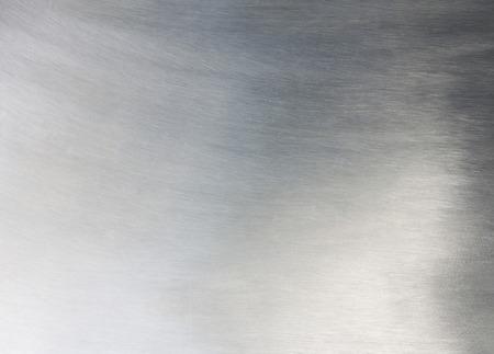 cromo: plata de chapa metálica sólida industria de fondo negro. Foto de archivo