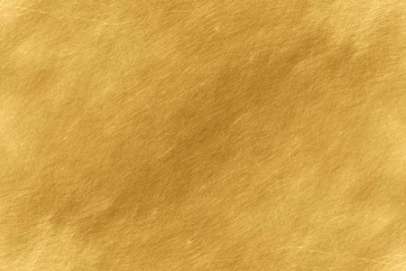 Brillante amarillo pan de oro lámina de textura de fondo