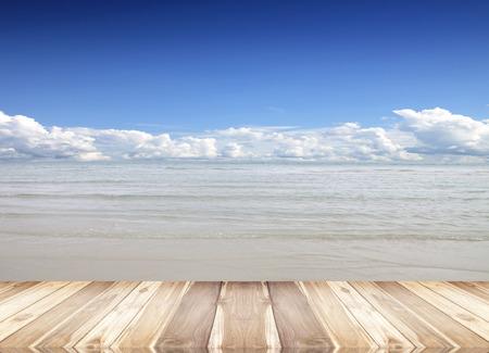 decorative balconies: Wooden floor isolated sky background nature an outdoor.