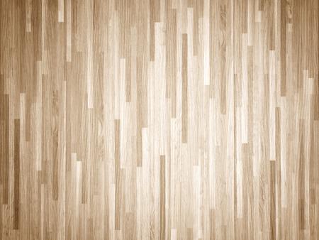 Hardhout esdoorn basketbalveld vloer van boven gezien Stockfoto