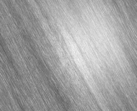 titanium plate: Sheet metal silver solid black background industry.