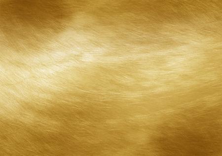 textury: Lesklý žlutý list zlatá fólie textury pozadí