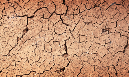 lack water: Drought the ground cracks no hot water lack of moisture.