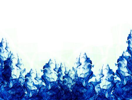 colour in: flujo suave del color azul en el agua Foto de archivo