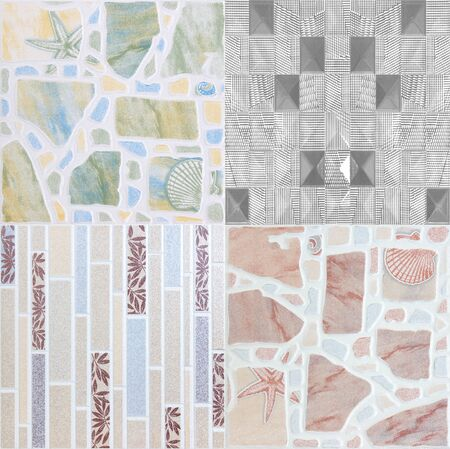 wall tile: tiles abstract background ceramic surface object industry Ceramic Floor and Wall Tile background building construction Stock Photo