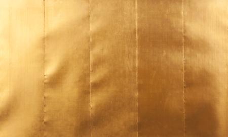 Sheet metal gold solid black background industry.