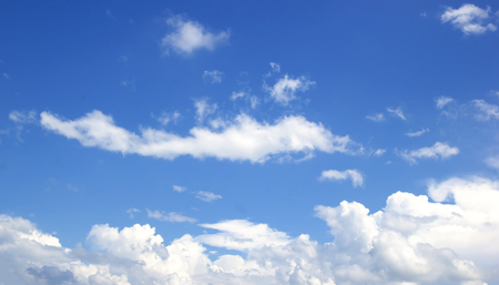 Blue sky white clouds Abstract nature skies Textured pattern background sky.