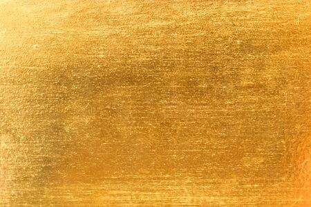 steel sheet: gold brushed metal texture for background abstract.