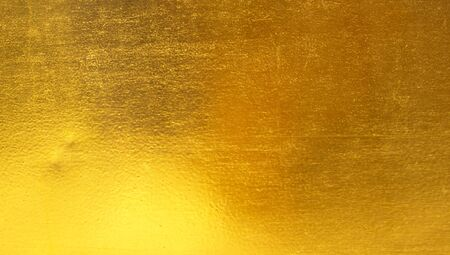 alloy: Shiny yellow leaf gold foil texture background