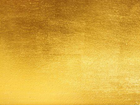 Gold background texture Sheet metal, gold highlights Stok Fotoğraf