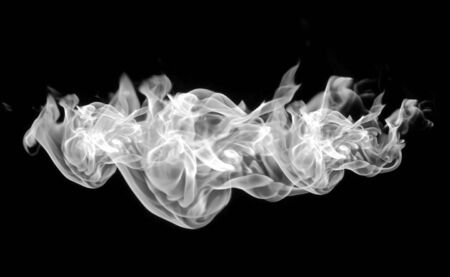 Abstract Fog or smoke isolated transparent special effect Stock Photo