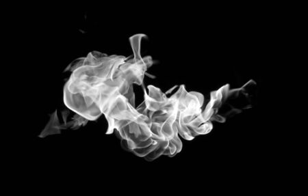 special effect: Abstract Fog or smoke isolated transparent special effect Stock Photo