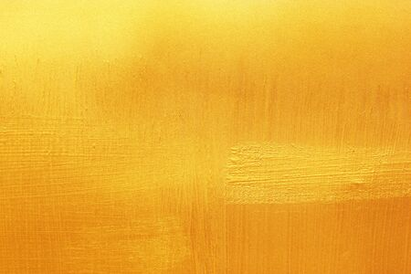 stainless: Shiny yellow leaf gold foil texture background