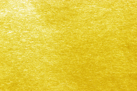Shiny yellow leaf gold Paper texture background 版權商用圖片