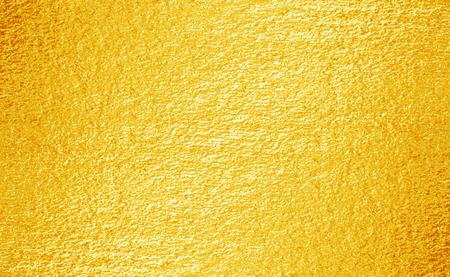 Shiny yellow leaf gold foil texture background 版權商用圖片