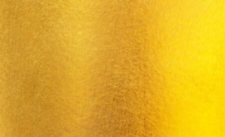 Fondo abstracto de textura de acero de metal pulido dorado