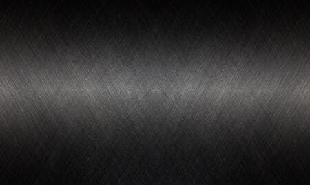 Fondo de textura de metal acero inoxidable negro. Foto de archivo