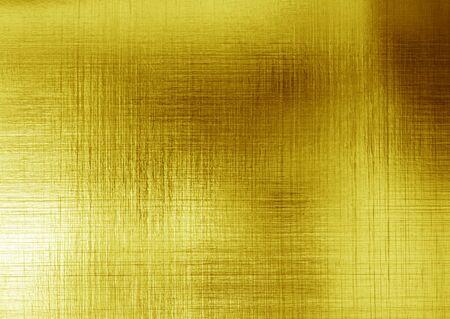 fond abstrait de texture en acier en métal poli or