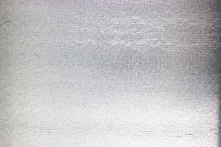 Silver foil background gray platinum metallic texture