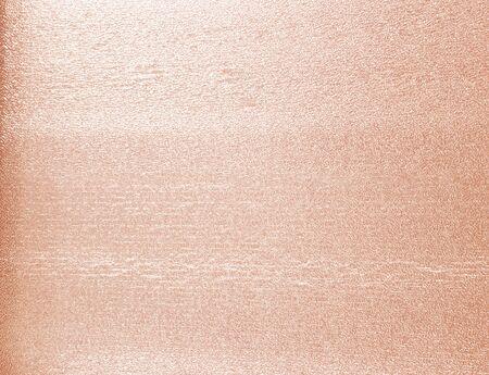Rose Goldfolie Textur Hintergrund Standard-Bild