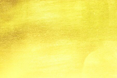 Gold glitter paste wall texture abstract background.