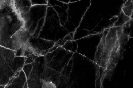 Black marble pattern texture for background texture Foto de archivo