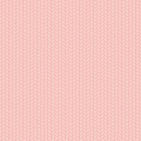 Hand drawn seamless vector pattern of a knitted stockinette stitch.