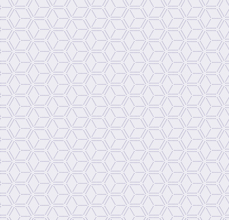 Traditional eastern seamless geometric pattern, in pale violet. Vector illustration. Flat style design. Concept for decorative element, textile print, wallpaper, wrapping paper.