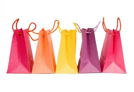 Bags isolated on whire background