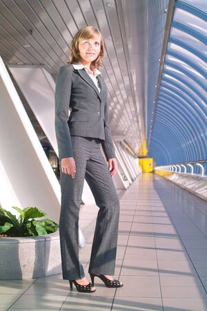 Portrait of beautiful young business woman  Stock Photo - 3468009