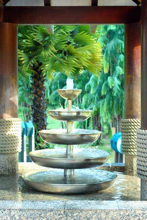 Water Bowl Stock Photo