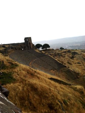 Picture of Pergamon ruins in Turkey