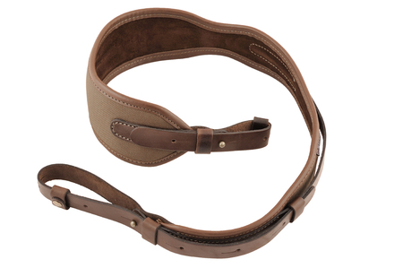 gat: Carrying strap for hunting rifle, isolated