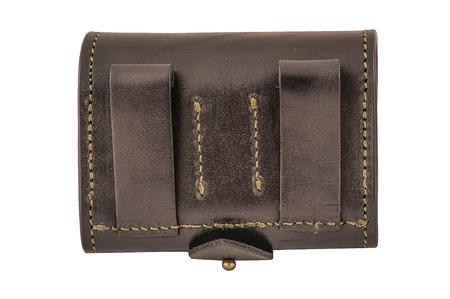 Hunter rifle ammo ammunition belts & bandoliers Stock Photo