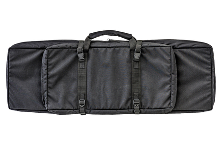 Bag for concealed carry of submachine gun. Isolated Фото со стока