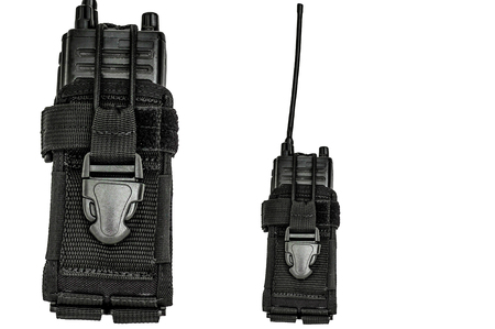 gat: Carrying weapons case: military tactical cartridge belt for pouch made from high-tech fabric with quick connection system, close up, isolated Stock Photo