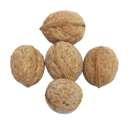 circassian: circassian walnuts isolated on white