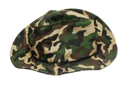 khaki: Military khaki hat  Stock Photo