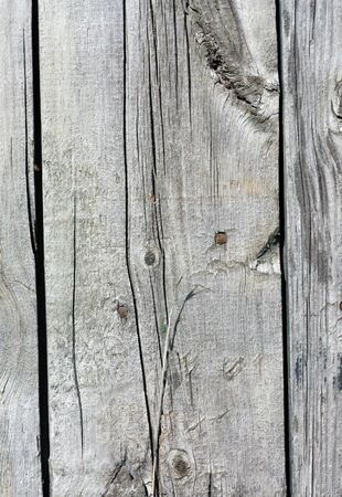 Close up of gray wooden fence panels Stock Photo - 8935043