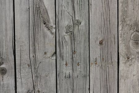 Close up of gray wooden fence panels Stock Photo - 8935131