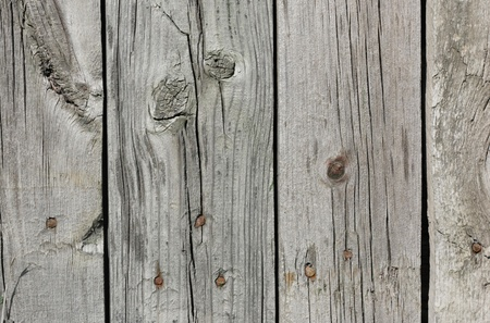 Close up of gray wooden fence panels  Stock Photo - 8935011