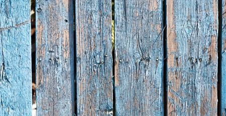 Close up of gray wooden fence panels Stock Photo - 8935229
