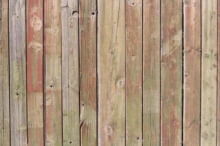 Close up of gray wooden fence panels  Stock Photo - 8935211