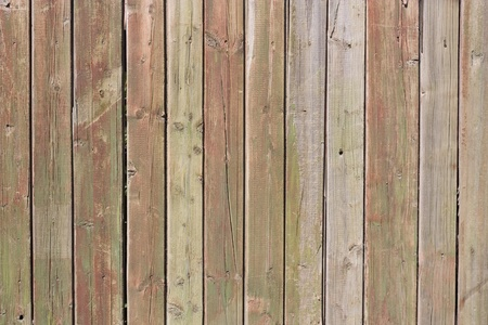 Close up of gray wooden fence panels  Stock Photo - 8935170