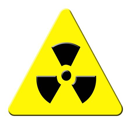 radioactive sign  photo