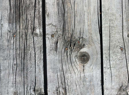 Close up of gray wooden fence panels Stock Photo - 9333402