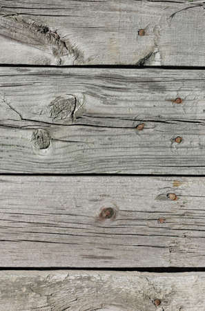 Close up of gray wooden fence panels Stock Photo - 9466635